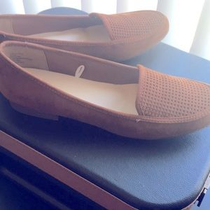 Never Worn Brown Flats Size 9.5